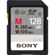 Карта памяти Sony 128Gb M Series UHS-II SDXC U3