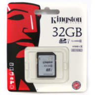 Карта памяти Kingston 32Gb SDHC UHS-I U1 C10 45Mb/s 300x