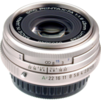 Объектив SMC PENTAX FA 43 mm F1.9 Limited Silver