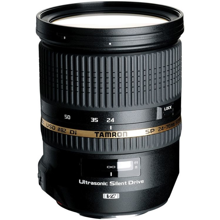 Объектив Tamron SP AF 24-70mm F/2.8 Di VC USD (Canon)
