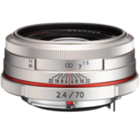 Объектив HD PENTAX DA 70 mm F2.4 Limited Silver