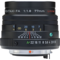 Объектив SMC PENTAX FA 77 mm F1.8 Limited Black