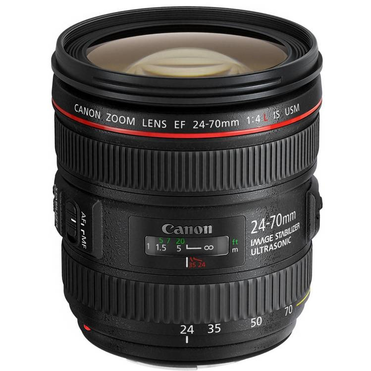 Объектив Canon EF 24-70mm f/4L USM IS