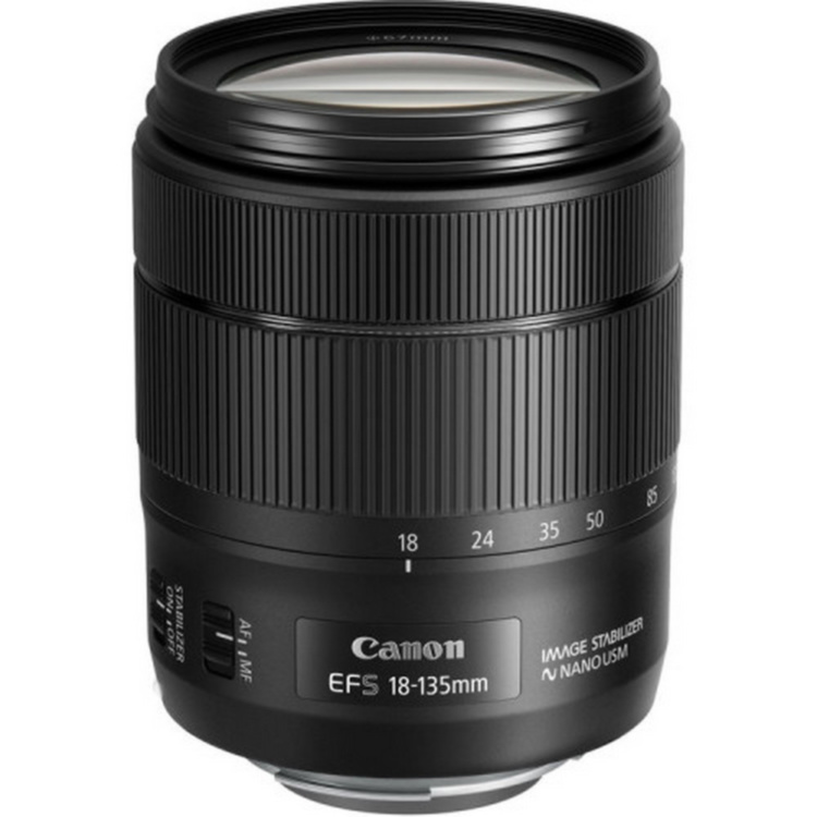 Объектив Canon EF-S 18-135mm f/3.5-5.6 IS USM Nano (Из кита)