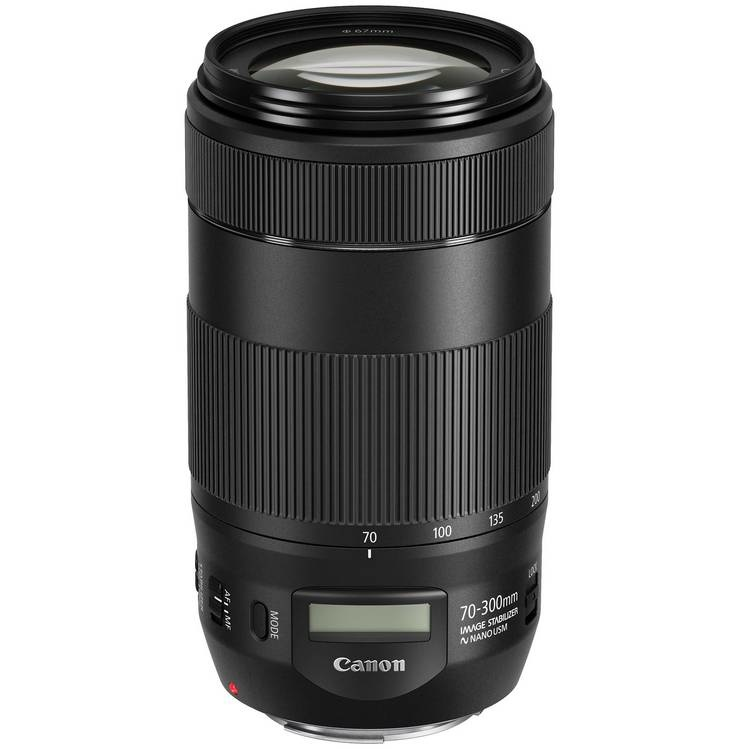 Объектив Canon EF 70-300mm f4-5.6 IS  II USM